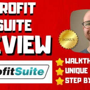 Profit Suite Review - 🚫WAIT🚫DON'T BUY WITHOUT WATCHING THIS DEMO FIRST🔥