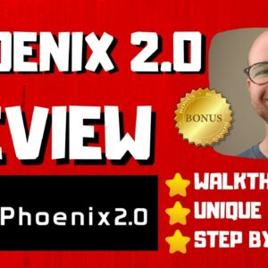 Phoenix 2 0 Review - 🚫WAIT🚫DON'T BUY WITHOUT WATCHING THIS DEMO FIRST🔥