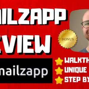 Mailzapp Review - 🚫WAIT🚫DON'T BUY WITHOUT WATCHING THIS DEMO FIRST🔥