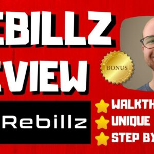 Rebillz Review - 🚫WAIT🚫DON'T BUY WITHOUT WATCHING THIS DEMO FIRST🔥