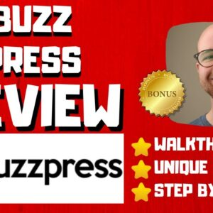 Buzz Press Review - 🚫WAIT🚫DON'T BUY WITHOUT WATCHING THIS DEMO FIRST🔥