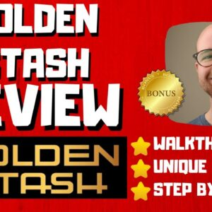 Golden Stash Review - 🚫WAIT🚫DON'T BUY WITHOUT WATCHING THIS DEMO FIRST🔥