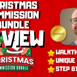 Christmas Commission Bundle Review - 🚫WAIT🚫DON'T BUY WITHOUT WATCHING THIS DEMO FIRST🔥