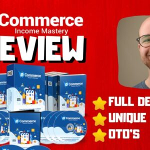 eCommerce Income Mastery Review 🔥Just Download & Start Selling