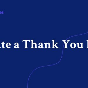 Creating a Thank You Page