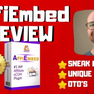 AffiEmbed Review - 🚫WAIT🚫DON'T BUY AFFIEMBED WITHOUT MY BONUSES ✅