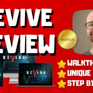Revive Review - 🚫WAIT🚫DON'T BUY REVIVE WITHOUT MY BONUSES 🔥