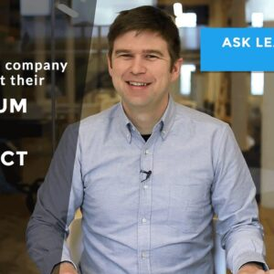 How does a company decide what their minimum viable product should be?