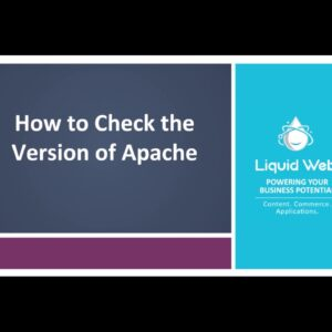 How To Check The Version Of Apache
