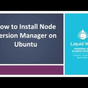 How to Install Node Version Manager on Ubuntu
