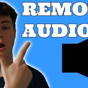 How to remove audio from video online for free