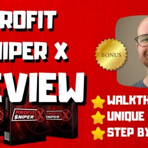 Profit Sniper X Review - 🚫WAIT🚫DON'T BUY PROFIT SNIPER X WITHOUT MY BONUSES 🔥