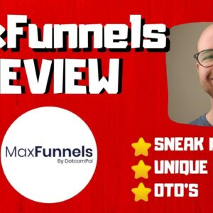 MaxFunnels Review 🔥Better Than The Rest?