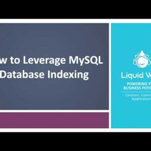 MySQL Performance: How To Leverage MySQL Database Indexing