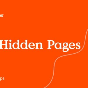 Site Hidden Pages