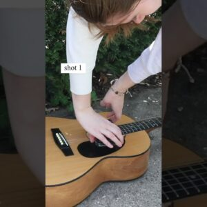 Super cool guitar B-roll idea 🎸 #shorts