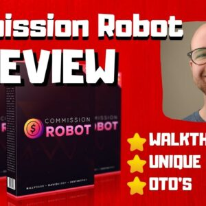 Commission Robot Review - 🚫WAIT🚫DON'T BUY COMMISSION ROBOT WITHOUT MY BONUSES 🔥