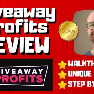 Giveaway Profits Review - 🚫WAIT🚫DON'T BUY GIVEAWAY PROFITS WITHOUT MY BONUSES 🔥