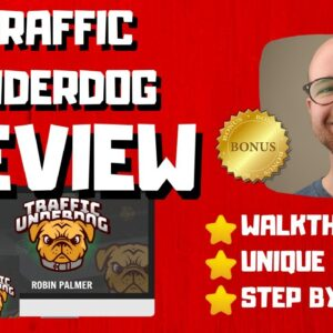 Traffic Underdog Review - 🚫WAIT🚫DON'T BUY TRAFFIC UNDERDOG WITHOUT MY BONUSES 🔥