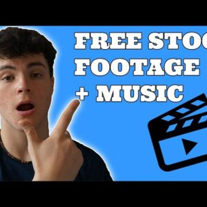 The easiest way to get free stock footage + music online (no hidden costs)