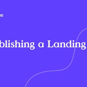 Unpublishing Landing Pages