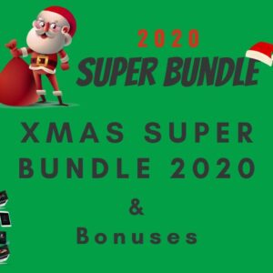 Xmas Bundle 2020 Review ☃️ Xmas Bundle 2020 Review & Demo ☃️ Plus My Bonus Xmas Bundle ☃️