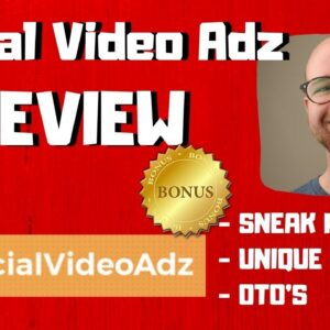 Social Video Adz Review - 🚫WAIT🚫DON'T BUY SOCIAL VIDEO ADZ WITHOUT MY BONUSES ✅