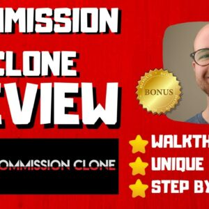 Commission Clone Review - 🚫WAIT🚫DON'T BUY WITHOUT WATCHING THIS DEMO FIRST 🔥