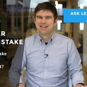 What is the number one mistake startups make when first starting out?
