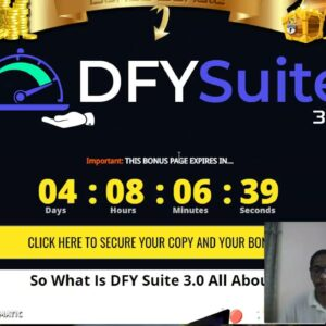 DFY Suite 3.0  REVIEW -- PURCHASE DFY Suite 3.0 & GET MY CUSTOM BONUSES COMPLETELY FREE!!!