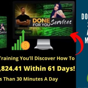 """The """"Done For You Services"""" Affiliate Marketing System. Watch FREE Training(Link In The Description)"""