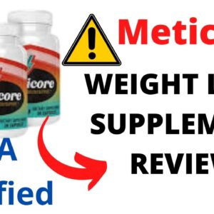 Meticore Review 😱 | My Honest Meticore reviews | ⚠️Scam Alert ⚠️ Real Meticore Review [Weight loss]😱