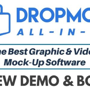DropMock All In One Review Demo Bonus - All In One Video Animation & Graphic Suite