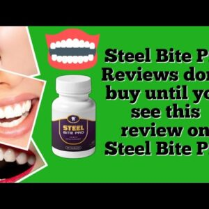 Steel Bite Pro Reviews don't buy until you see this review on Steel Bite Pro