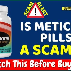 Meticore Review ❌⚠️SCAM ALERT😲 Don't Buy Meticore Weight Loss Pills  Before Watching This Video😲