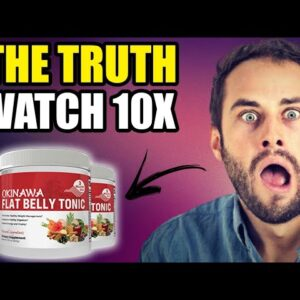 Okinawa Flat Belly Tonic Review ⚠DON'T BE FOOLED! Okinawa Flat Belly Tonic System Reviews! Works?
