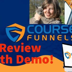 CourseFunnels Review Demo 📢 don't get it WITHOUT my 🔥EXCLUSIVE CUSTOM BONUSES 🔥 Course Funnels Demo!