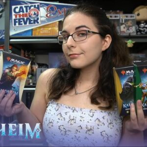 Let's Find Some Exclusive Rares! | MTG KALDHEIM THEME BOOSTER FULL SET OPENING