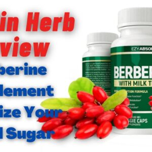 Insulin Herb Review - Berberine Supplement Can Stabilize Your Blood Sugar? Must Watch!