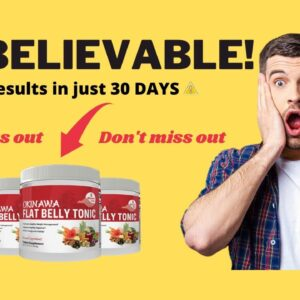 OKINAWA FLAT BELLY TONIC Review - The Truth About The OKINAWA Flat Belly Tonic - Careful with SCAM