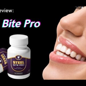 Steel Bite Pro Reviews 2021 - Does It Really Work? | Mister Six Pack Steel Bite Pro Pills