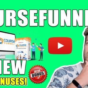 CourseFunnels Review - 🛑STOP🛑 The Truth Revealed In This 📽 CourseFunnels REVIEW 👈