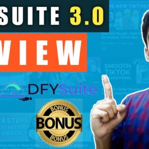 DFY Suite 3.0 Review⚠️ WARNING ⚠️ YOU DON'T GET THIS WITHOUT MY 👷 CUSTOM 👷 BONUSES!!