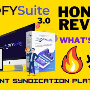 dfy suite 3.0 review |  dfy suite 3.0 demo video | dont buy til you check out my review