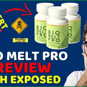 Bio Melt Pro Review ❌SCAM ALERT⚠️ DON'T Buy BioMelt Pro Supplement Before Watching This Review!