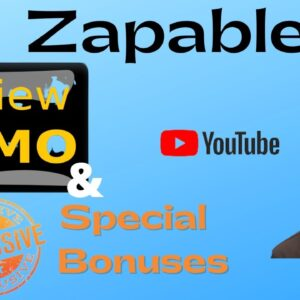 Zapable Review - STOP!!🛑Don't get Zapable Without My⚡⚡Custom Money Bank💰💰Bonuses👌