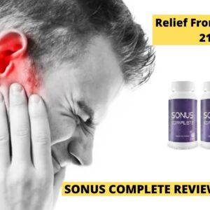 Sonus Complete Review 2021! The Best tinnitus treatment. Pills/Supplements For Healthy Hearing.