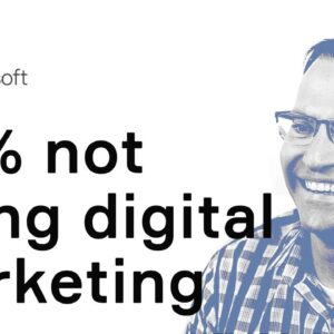 29% of small business owners not using digital marketing
