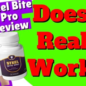 Steel Bite Pro Review 2021 - ⚠ Don't Buy ⚠ Before Watching this Steel Bite Pro Reviews!