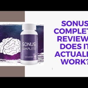 Sonus Complete Review ⚠️  SCAM ALERT! ⚠️  What Other Reviews Won't Tell You About Sonus Complete